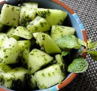 Honeydew Melon Salad Recipe