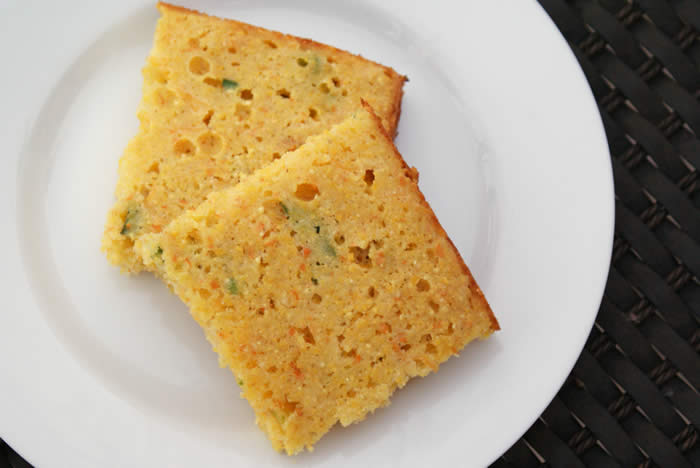 Cornbread with Cheese and Chilies